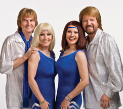 "The ""Abba"" Tribute Band known as ""Adbacadabra."" They were high energy throughout the whole show, and did an excellent job!"
