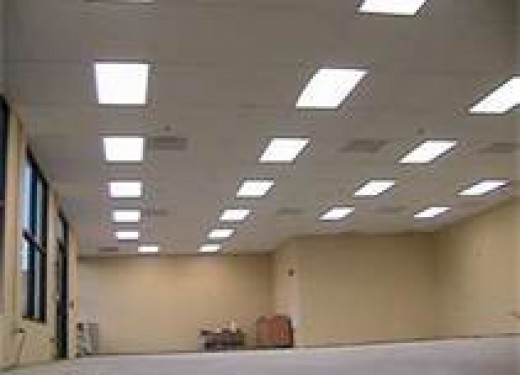 While getting better, many classrooms still utilize fluorescent lighting