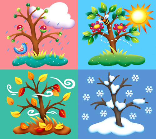 Seasons bring about changes in the weather...and our students