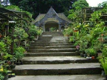 The gate to enter Baturaden.