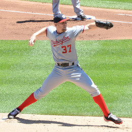Washington Nationals pitcher, Stephen Strasburg.