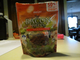 I used precooked real bacon bits instead of frying fresh bacon, I only used about half of the bag.