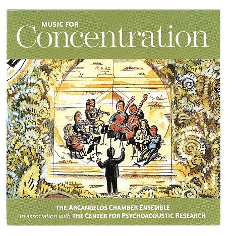Try classical music, like Bach, when trying to concentrate.