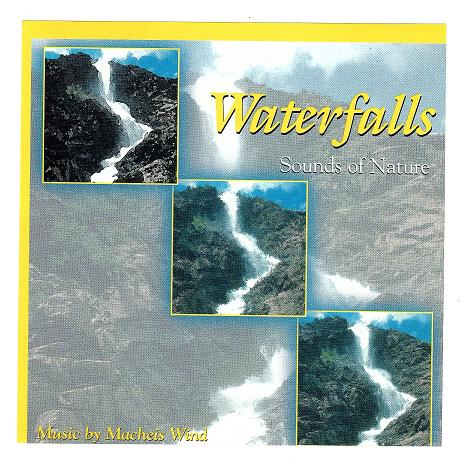 Sound effects, like waterfalls, can give us the feeling of being outdoors, even when we can't be outdoors.