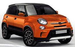 The new auto, that is completely made in Serbia - the new Fiat 500L