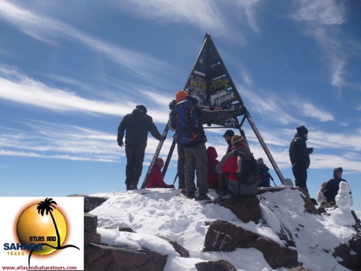 You can see Jebel Toubkal from Marrakech and climb it in 2 or more days as part of your holiday.