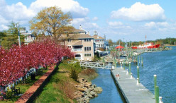 Lewes, Delaware in Springtime (one of Gail's favorite DE beach towns)