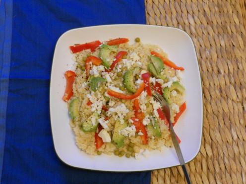 Couscous and Feta Salad