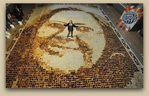 World's Largest Toast Mosaic