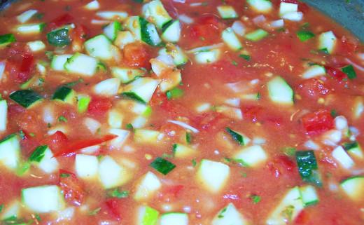 Gazpacho--made easy