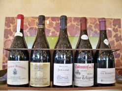 Red wines of Chateauneuf du Pape