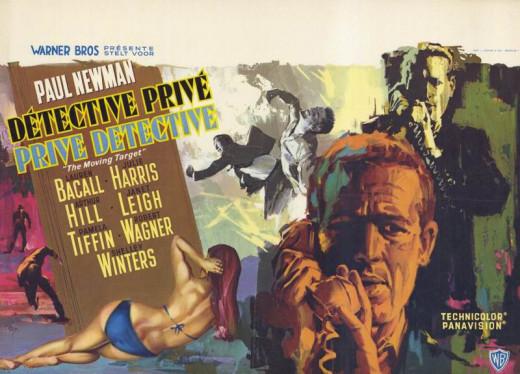 Harper (1966) Belgian poster