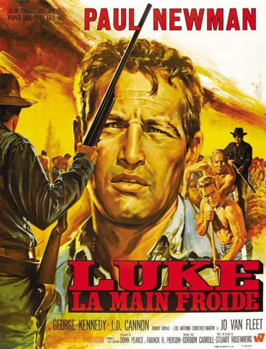 Cool Hand Luke (1967) French poster