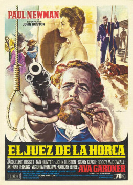 The Life and Times of Judge Roy Bean (1972) Spanish poster