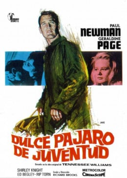 Sweet Bird of Youth (1962) Spanish poster