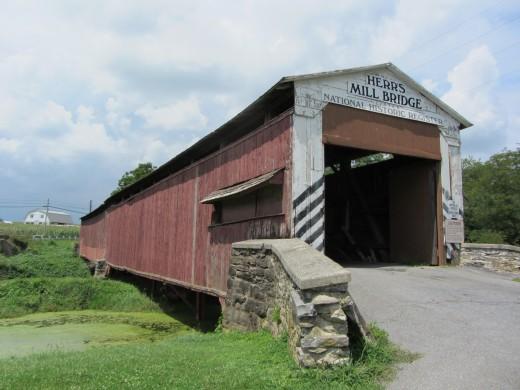 Herr's Mill Bridge in Ronks, PA