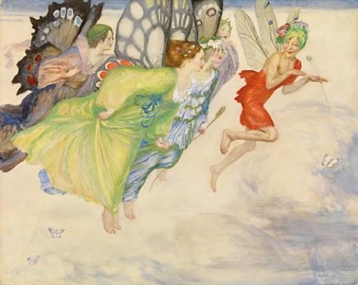 A Flight of Fairies...planning their next trick!