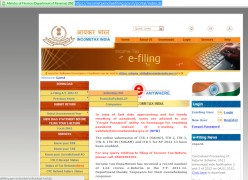 How to E-file Income tax returns for salaried employees.