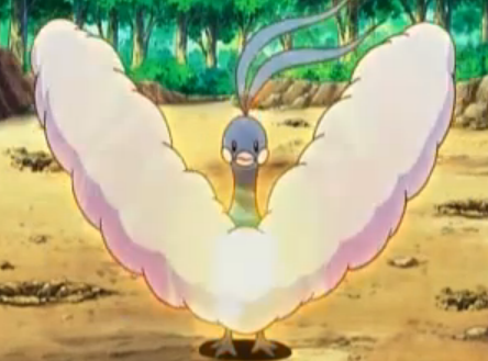 Altaria getting ready to use draco meteor