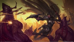 The Demon Hunter In Diablo 3 Conceptual Art
