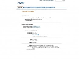 Screen shot of my second payment from hubpages.