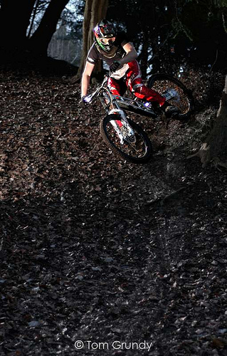 Practice with cornering will allow you to handle even the tough trails with ease