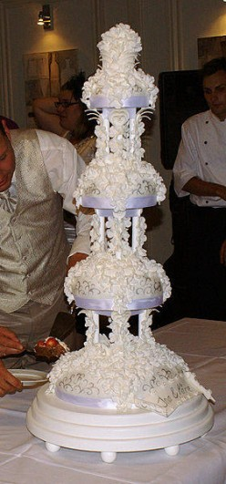 Sri Lankan Wedding Cake