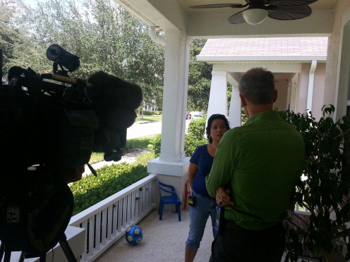 Interview with Berndt Peterson of  WFTV - Avalon Park, Orlando Florida