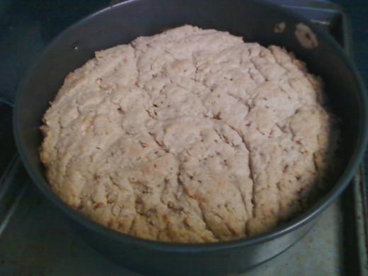 Peanut Butter Almond Cake