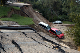 What natural disaster could interfere with your next project?