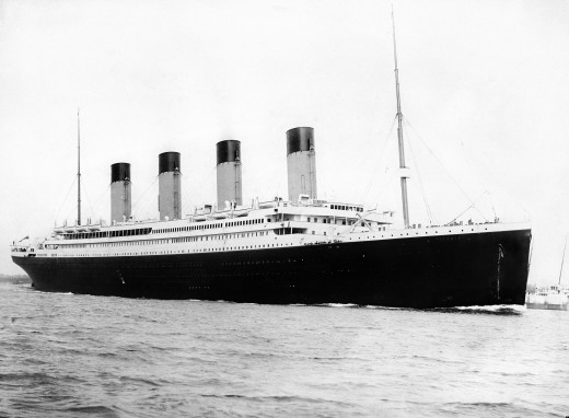 The Titanic, before she set sail: not as unsinkable as most people thought!