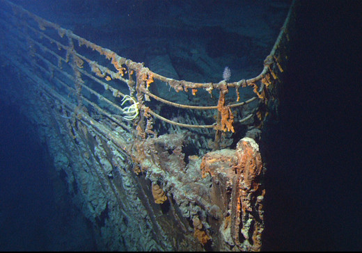 The Titanic, 92 years after the iceberg. Not where you want your project to end up!