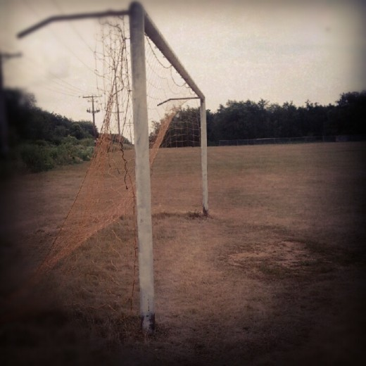 The penalty area is the goalkeepers domain.