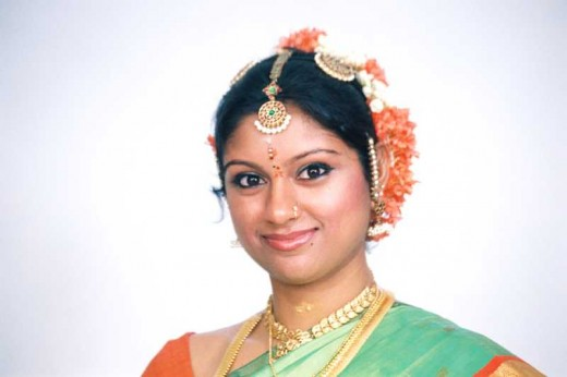A south Indian woman