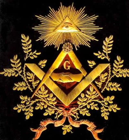 Freemason symbol that some claim is an Illuminati symbol
