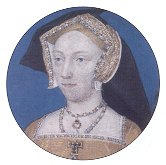 A miniature of Jane Seymour.