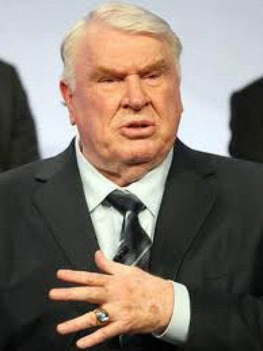 John Madden had a great career as a player, coach and broadcaster in the NFL. He coached the Oakland Raiders.
