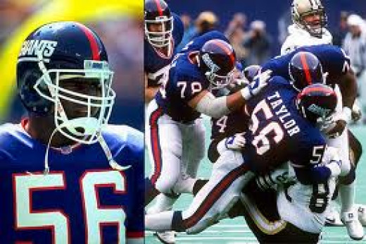 Lawrence Taylor stroked fear in football players all over the league in his viscous prime. His forte was sacking the quarterback and he was one of the best in history.