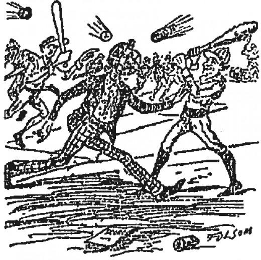 Samuel Clemens, Umpire in a Scrum