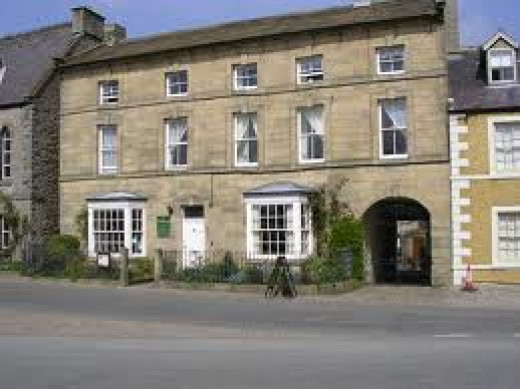 Priory Guesthouse also faces onto the market square