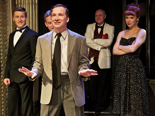 Sleuthing and singing: Jeremy Legat stars as Lieutenant Frank Cioffi in Kander & Ebb's sensational comedy musical whodunit, showing at the Landor Theatre, Clapham