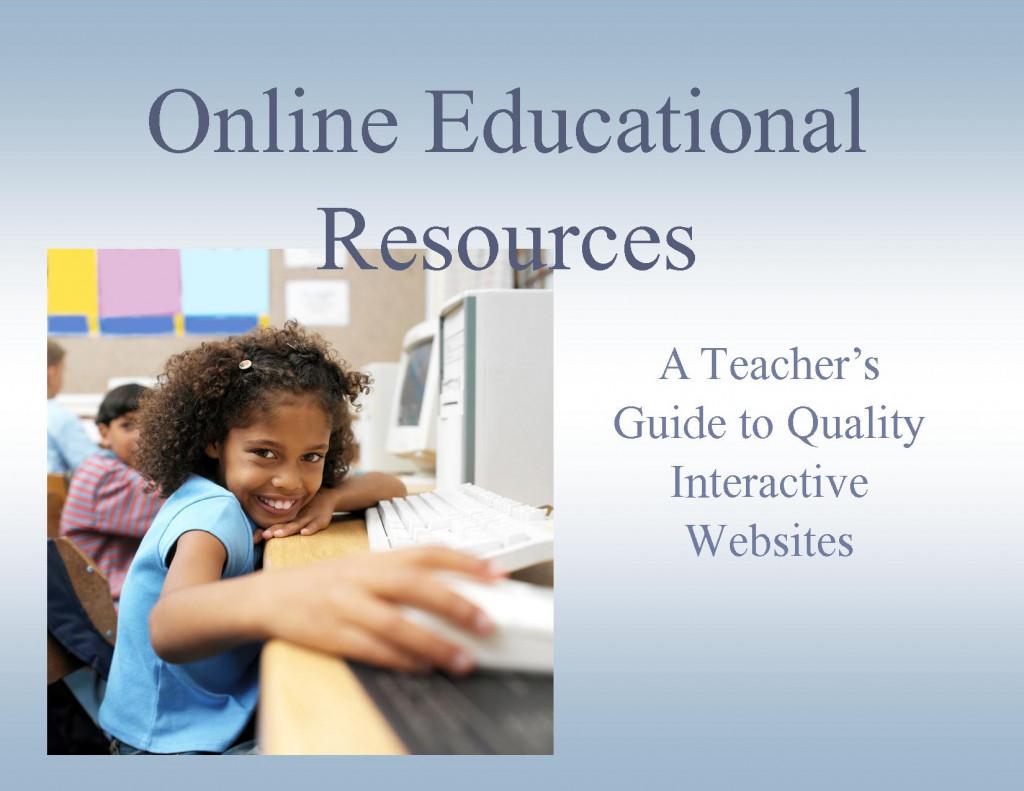 Teacher resource websites