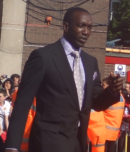 Dwight Yorke, former Manchester United player from Tobago