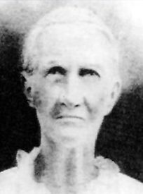 Rebecca Dunlap Evans, one of the 17 children spared and taken to live at Jacob Hamblin's homestead near the massacre site.