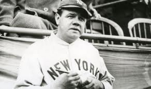 Babe Ruth is baseball's most famous player ever and he even has a candy bar that started because of him, the Baby Ruth.