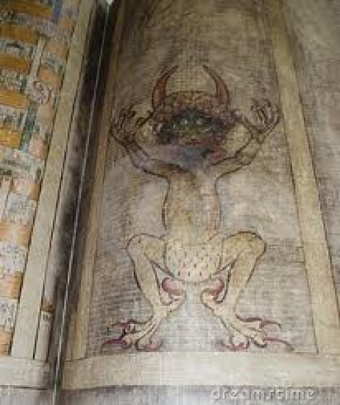 Devil Sketches are carved in different areas throughout the world.
