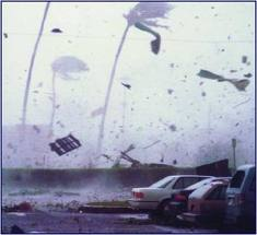 Hurricane Iwa on Kauai 1982