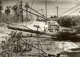 Destruction - Hurricane Iwa - 1982