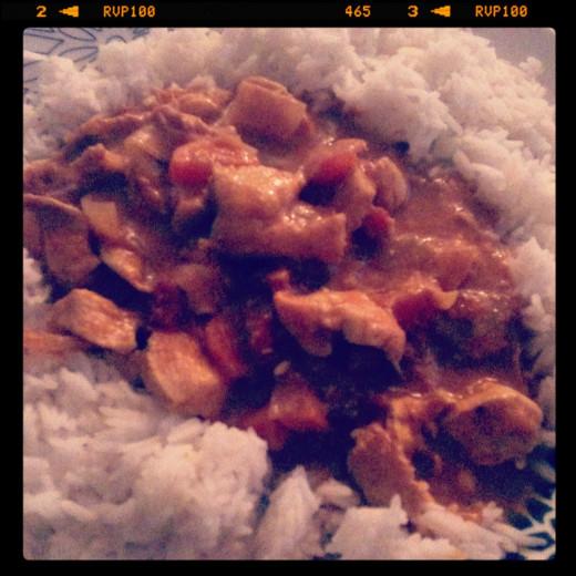 Mild Chicken Korma Curry