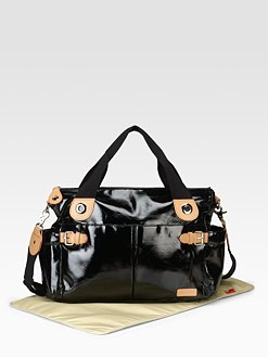"Storksak ""Kate"" patent leather bag"